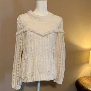 Sea New York // Cream lace top. Worn once